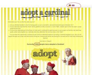 Adopt a Cardinal